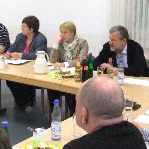 SPD-Fraktion im Gespräch mit Jochen Schirp und seinen MitarbeiterInnen