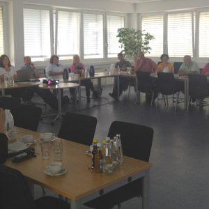 SPD-Kreistagsfraktion besucht KreisJobCenter