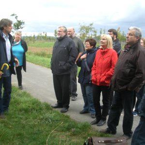 SPD-Kreistagsfraktion zu Besuch auf der Zeiteninsel